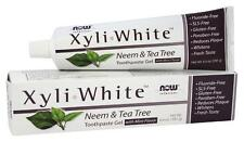 XyliWhite Toothpaste Gel Neem & Tea Tree 6.4oz by Now Solutions Free Shipping