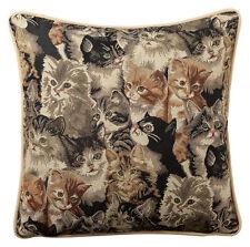 Kissenhülle Kissenbezug Dekokissenhülle Hülle Gobelin 40 x 40 cm Dessin: Katze