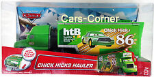Disney Pixar Cars Chick Hicks Hauler - Chick Hicks Team Truck - Mattel 2015 OVP