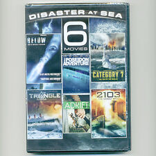 Disaster At Sea 6 movies new DVDs Below Poseidon Adventure Triangle Adrift Wake