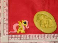 My Little Pony 2D Silicone Push Mold A754 Chocolate Fondant Gum Paste Cake Pop