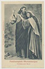AK  Christus und Maria - Passionsspiele Oberammergau  (Y580)