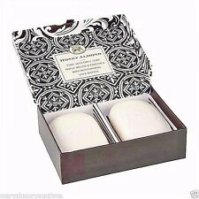 Honey Almond Double Bars of Shea Butter Soap in Gift Box by Michel Design Works