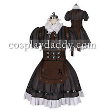 Alice Madness Returns Alice Steamdress Cosplay Costume with stocking Outfit