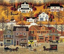 Charles Wysocki Legacy Series Hand Signed and # Print HAWKRIVER HOLLOW #664/1250