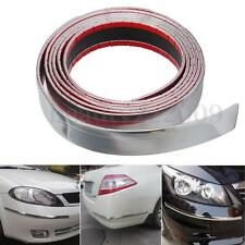 2.5mx30mm Chrome Adhesive Molding Strip Trim For Exterior Car Styling Decoration