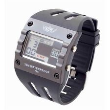Uzi UZI-W-799 Digital Sports Watch w/Rubber Strap Water Resistant