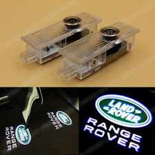 2x LED Door Step Ghost Shadow Welcome Courtesy Projector Light for Land Rover