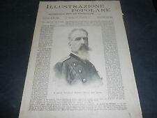 1894 RIVOLTA CASTELVETRANO PIANA DEI GRECI CARRARA GEN. MOCENNI DALBONO