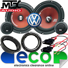 "VW Golf MK4 1998 - 2004 MTX 6.5"" 480 Watts Front Door Component Kit Car Speakers"