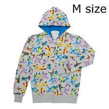 Pokemon Center Limited pokémon time Eevee COLLECTION Hoodie M size Sylveon parka