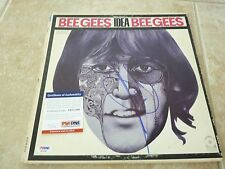 Barry Gibb Bee Gees Signed Autographed LP Album Record PSA Certified
