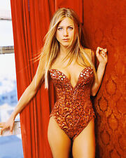 Jennifer Anniston 8X10 sexy red bathing suit