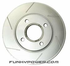 Stoptech Sport Slotted FRONT Brake Discs Pair - Honda Accord Type-R CH1 H22 VTEC