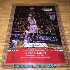 2016 Panini Instant NBA Finals LEBRON JAMES #3 ONLY 103 MADE RED Cavaliers