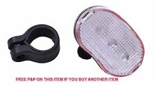 MTB BIKE SAFETY FRONT 5 LED BRIGHT LIGHT 3 DIFFERENT MODES WATERPROOF CYCLE LAMP