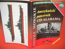 Warships-Bs perfiles morskie 18, tanques barco USS Alabama formato grande!