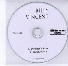 (DV301) Billy Vincent, Dead Man's Shoes / Squeaky Clean - DJ CD