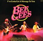 THE BEE GEES i've gotta get a message to you CN 2028 uk contour LP PS EX/EX