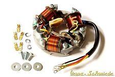 VESPA Zündgrundplatte komplett - 3 Spulen / 6V / Außen - V50 50N Special Zündung