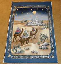 And It Came To Pass Wise Men Crafters Unfinished Tapestry Wall Hanging Fabric