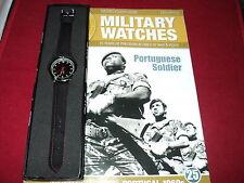 EAGLEMOSS OROLOGI MILITARI-fascicolo 25-PORTUGUESE Soldato dell' Orologio degli anni' 60.