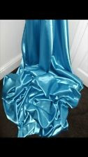 "1 MTR TURQUOISE LINING SATIN FABRIC...58"" WIDE"