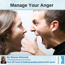Administración y control de Temper enojo con nuestras hipnosis hipnoterapia Audio CD