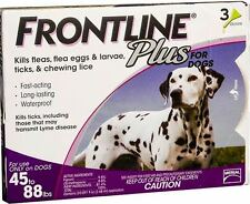 Frontline Plus Purple  For Dogs 45-88lbs 3Pack