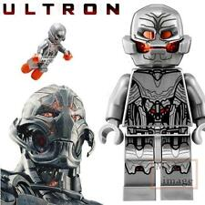 1pc Ultron Minifigure Building Bricks Toy Marvel Avengers Custom Lego #159