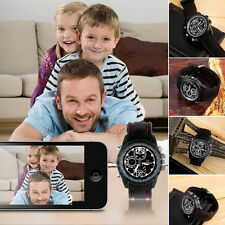 HD 1280*960 Spy Wrist 8GB DV Watch Video Hidden Camera DVR Waterproof CamcordBY