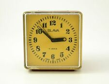 Vintage SLAVA Mechanical, USSR ,Russian Alarm Clock