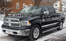 2009-2017 Dodge Ram Crew Cab 5.7' Short Bed w/Flare Rocker Panel Trim Stainless