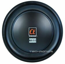 "ALPHASONIK PSW112E 12"" 460W ALPHA 100 SERIES CAR AUDIO SUB WOOFER SPEAKER NEW"