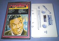 NAT KING COLE REPLAY cassette tape album T373