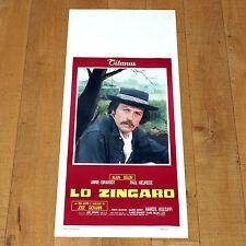 LO ZINGARO locandina poster Le gitan Alain Delon Paul Meurisse Girardot E60