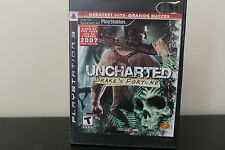 Uncharted: Drake's Fortune  (Sony Playstation 3, 2007) *Tested
