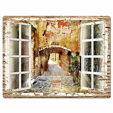 PP0601 French Window Scenery Chic Sign Shop Store Cafe Home Room Kitchen Decor