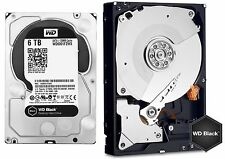 Western Digital 6TB BLACK Performance Hard Drive WD 128mb WD6001FZWX WD6002FZWX