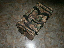 26'' CAMO TRAVEL TOTE LUGGAGE COLLEGE BAG CASE zipper collapsable