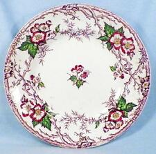 Apple Blossom Luncheon Plate Pinder & Bourne Mulberry Transferware 1860s