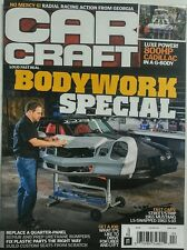 Car Craft April 2016 Bodywork Special Loud Fast Real Cars Race FREE SHIPPING sb