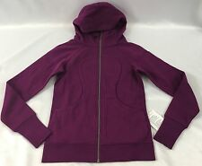 Lululemon Women's Athletic Scuba Hoodie III Jacket W4AAOS Purple Size 6