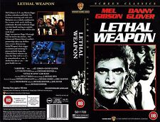 Lethal Weapon, Mel Gibson Video Promo Sample Sleeve/Cover #15955