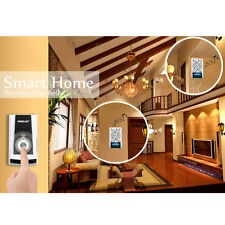 Waterproof Wireless Remote Home Door Bell 36 Chime Doorbell 2-Receiver Blac
