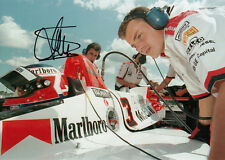 Jan Magnussen Hand Signed Marlboro McLaren Mercedes F1 7x5 Photo.