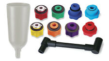 CTA Tools 10 Pc. Universal Oil Filling System Set with 2 Liter Funnel 7480