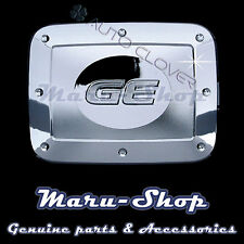 Chrome Fuel Gas Filler Door Cap Cover Trim for 07~11 Chevrolet Aveo 4DR