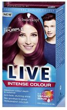 Schwarzkopf LIVE Intense 086 Pure Purple Pro Permanent Hair Colour Dye x 1