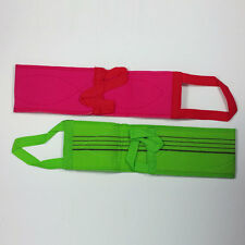 2pcs Korean Exfoliating Body Scrub Belt Towel Wash Cloth Bath Body Red Green